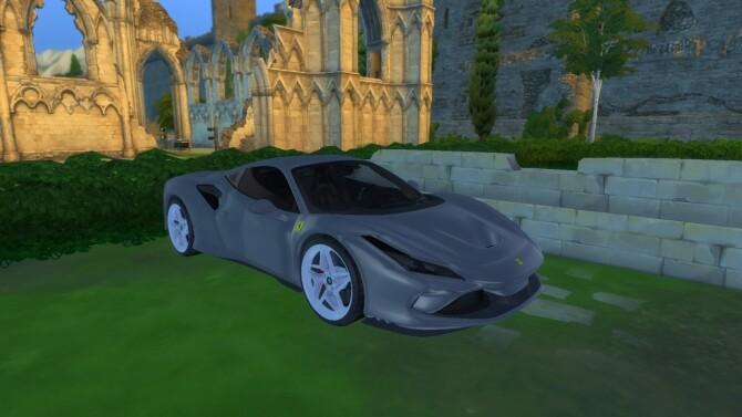 Sims 4 Ferrari F8 Tributo at LorySims