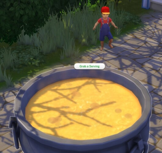 Toddlers can Eat from Cauldrons by Iced Cream