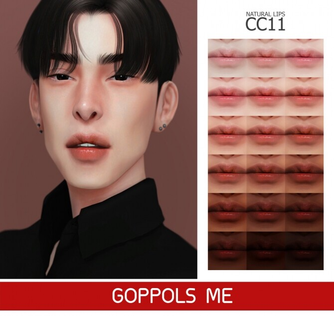 Sims 4 GPME GOLD Natural Lips CC11 at GOPPOLS Me