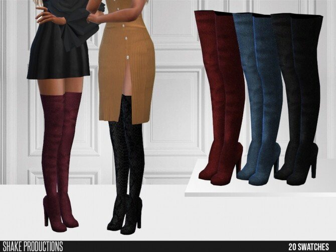 Sims 4 499 Boots by ShakeProductions at TSR