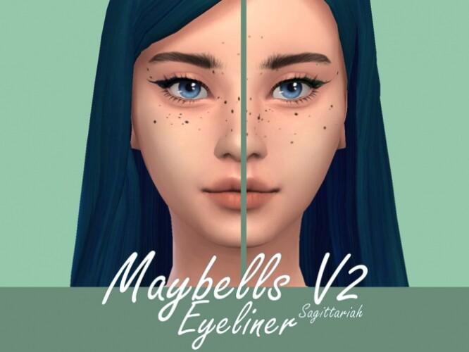 Maybells Eyeliner V2 by Sagittariah