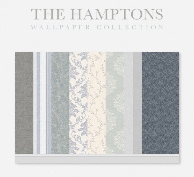 Sims 4 The Hamptons Wallpaper Collection at SimPlistic