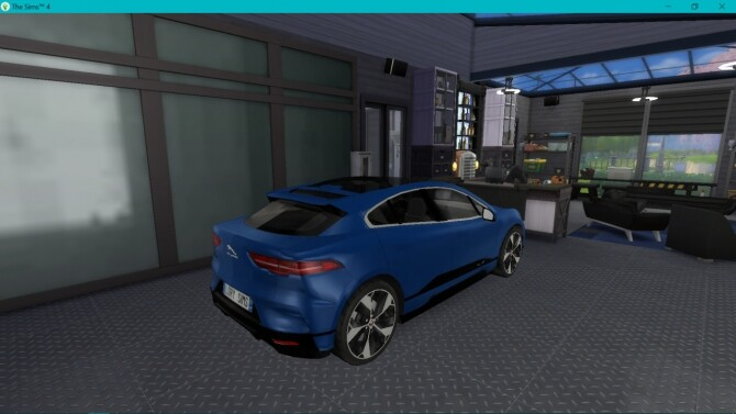 Sims 4 Jaguar I Pace at LorySims