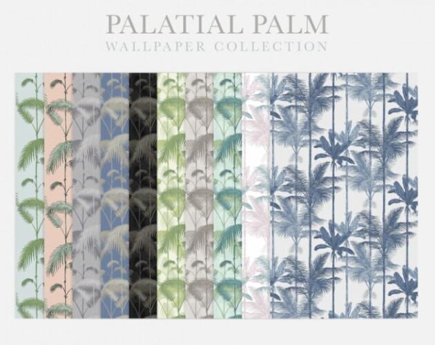Palatial Palm Wallpaper
