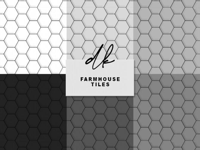 Farmhouse Tiles at DK SIMS image 1351 670x503 Sims 4 Updates