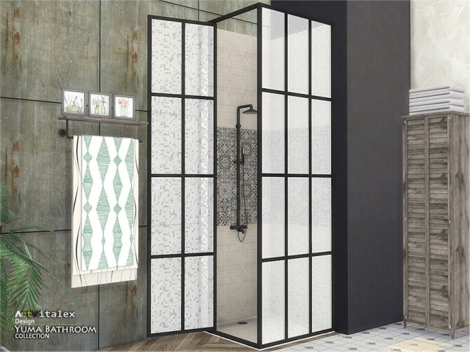 Sims 4 Yuma Bathroom by ArtVitalex at TSR