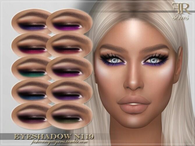 FRS Eyeshadow N119 by FashionRoyaltySims at TSR image 136 670x503 Sims 4 Updates