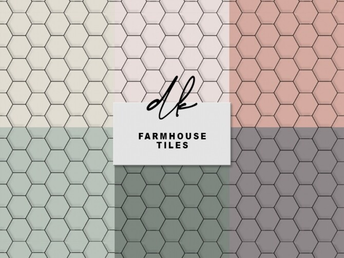 Sims 4 Farmhouse Tiles at DK SIMS
