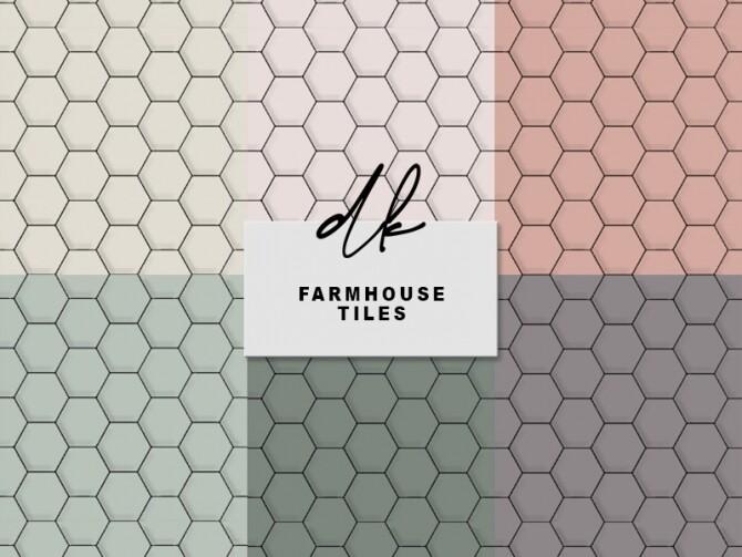 Farmhouse Tiles at DK SIMS image 1361 670x503 Sims 4 Updates