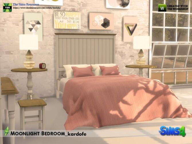 Moonlight Bedroom by kardofe