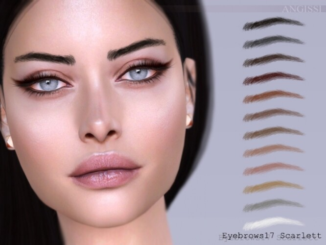 Eyebrows 17 Scarlett by ANGISSI