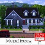 Manor House 3 by ALGbuilds