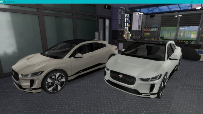 Jaguar I Pace at LorySims image 1385 670x377 Sims 4 Updates