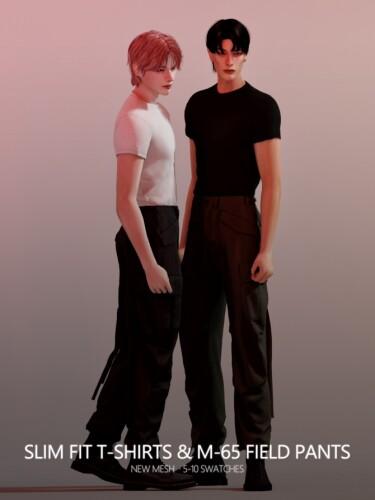 Slim Fit T-Shirts M-65 Field Pants