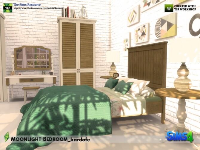 Sims 4 Moonlight Bedroom by kardofe at TSR