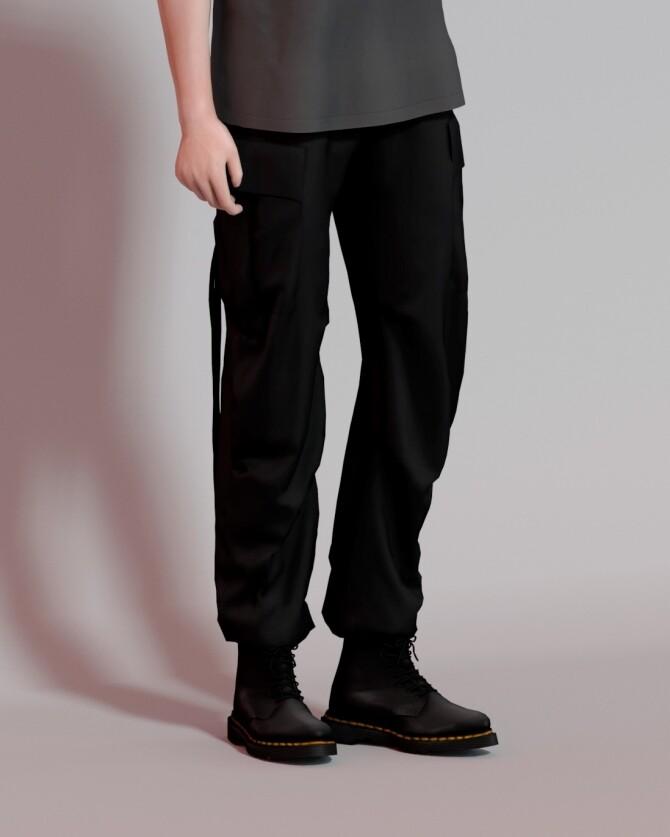 Sims 4 Slim Fit T Shirts & M 65 Field Pants at Rona Sims