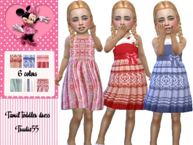 Tamil toddler dress by TrudieOpp