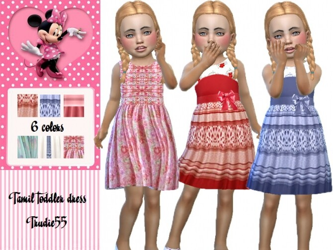 Tamil toddler dress by TrudieOpp at TSR image 1416 670x503 Sims 4 Updates