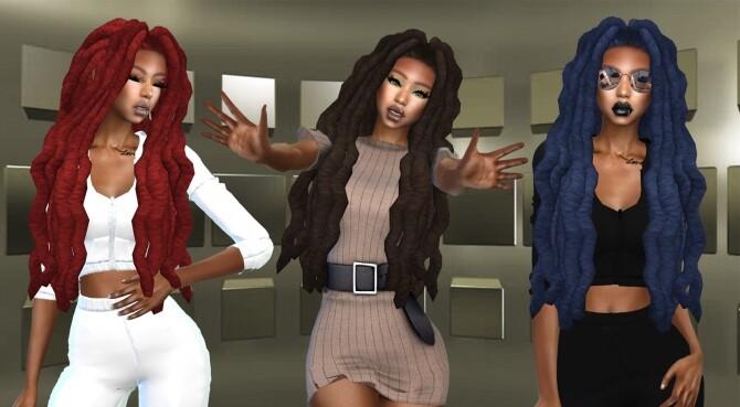 Lana Locks Recolor at Teenageeaglerunner image 1421 670x369 Sims 4 Updates