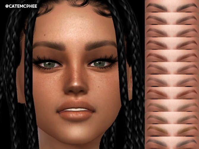 Alissa Eyebrows EB 04 by catemcphee at TSR image 14311 670x503 Sims 4 Updates