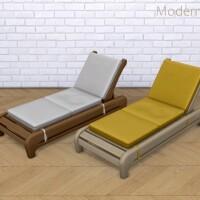 Tempting Teak Lounge Chair Recolour Set
