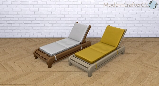Tempting Teak Lounge Chair Recolour Set