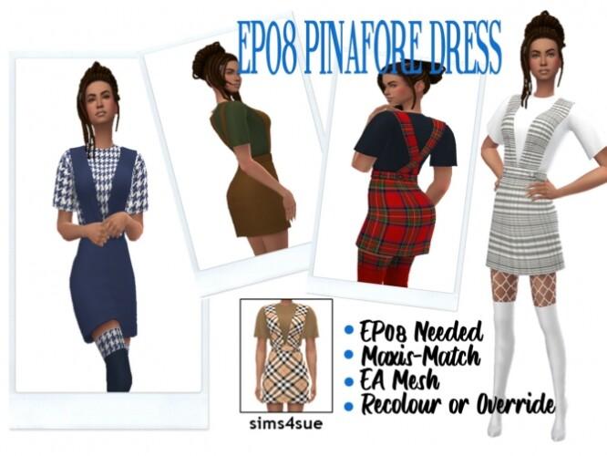 EP08 PINAFORE DRESS
