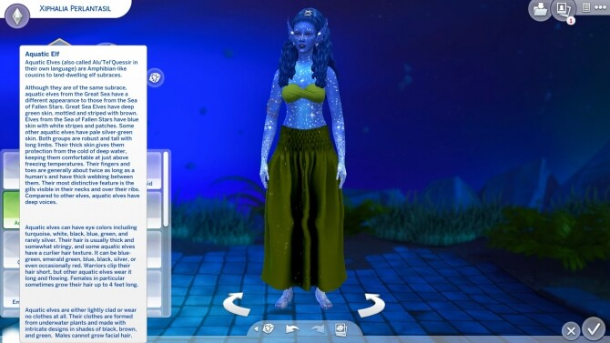 Sims 4 Dungeons & Dragons Races as Traits by Emoria at Mod The Sims