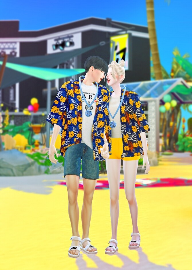 Summer collaboration set at Chaessi image 14610 670x941 Sims 4 Updates