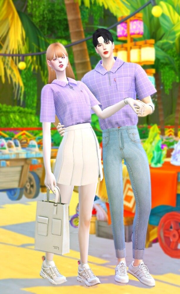 Summer collaboration set at Chaessi image 14710 613x1000 Sims 4 Updates