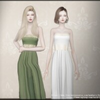 Olive dress by Arltos