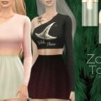 Zoe Top by Dissia