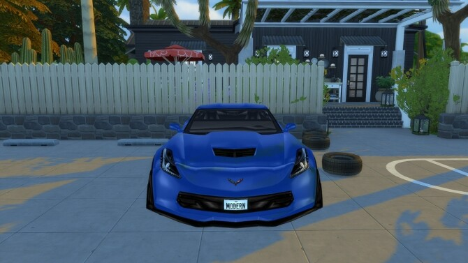 2015 Chevrolet Corvette Stingray C7 Z06 at Modern Crafter CC image 1473 670x377 Sims 4 Updates