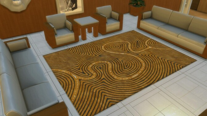 Sims 4 Designer Rugs 2 by AdonisPluto at Mod The Sims