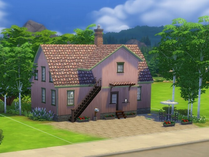Sims 4 Gunhilds hut at KyriaT's Sims 4 World