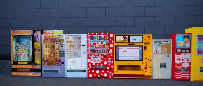 2 Non Functional Japanese Style Vending Machines at Mochachiii image 14813 670x285 Sims 4 Updates