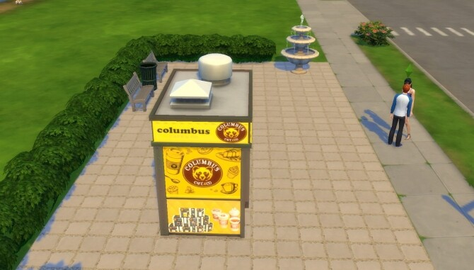 Columbus coffee to go! by ArLi1211 at Mod The Sims image 1482 670x381 Sims 4 Updates