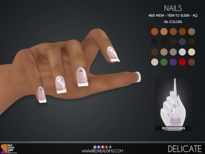 DELICATE NAILS by Thiago Mitchell