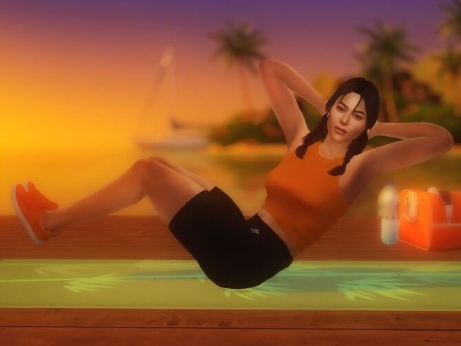 Workout Poses at Katverse image 1491 670x503 Sims 4 Updates