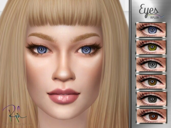 Eyes RPL09 by RobertaPLobo