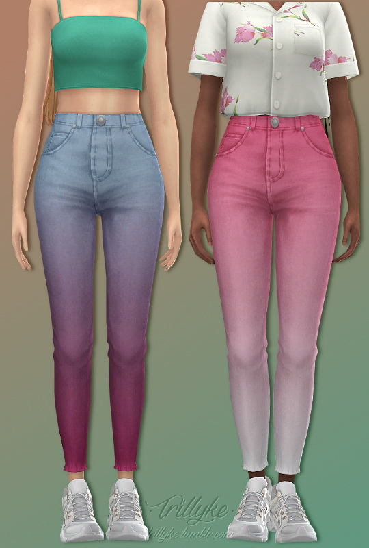 Sims 4 Not Shy Pants at Trillyke