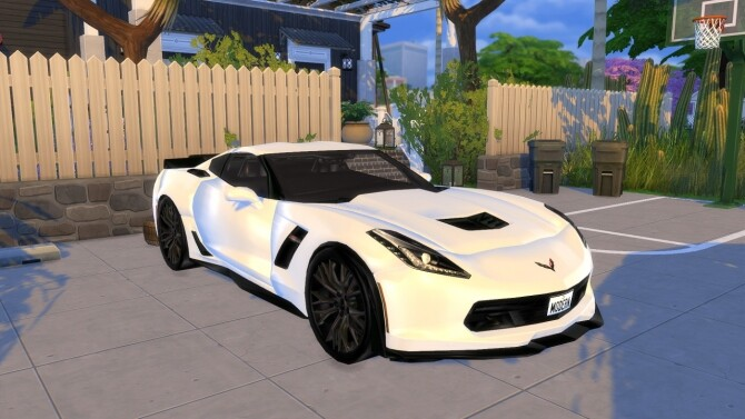2015 Chevrolet Corvette Stingray C7 Z06 at Modern Crafter CC image 1502 670x377 Sims 4 Updates