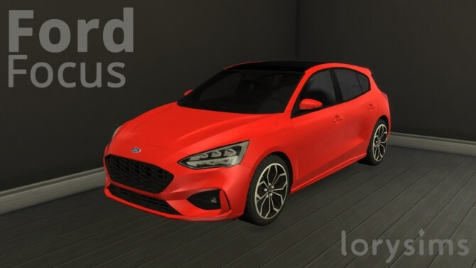 Ford Focus ST-Line by LorySims