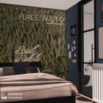 Forestbound Wall Mural by Networksims