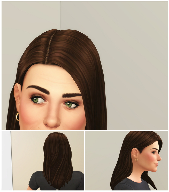 Sims 4 Kate Hair IV / V1 at Rusty Nail