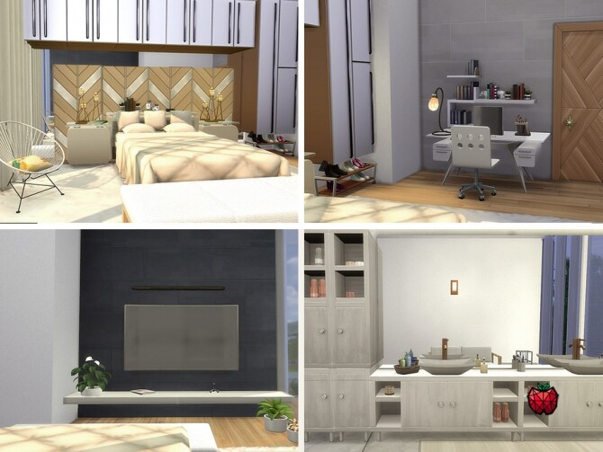 Sims 4 Donna home by melapples at TSR