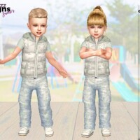 Urban Toddler Camo Set by Pinkfizzzzz