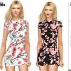 Flower Cherry Blossom Dress 149 by Pinkfizzzzz
