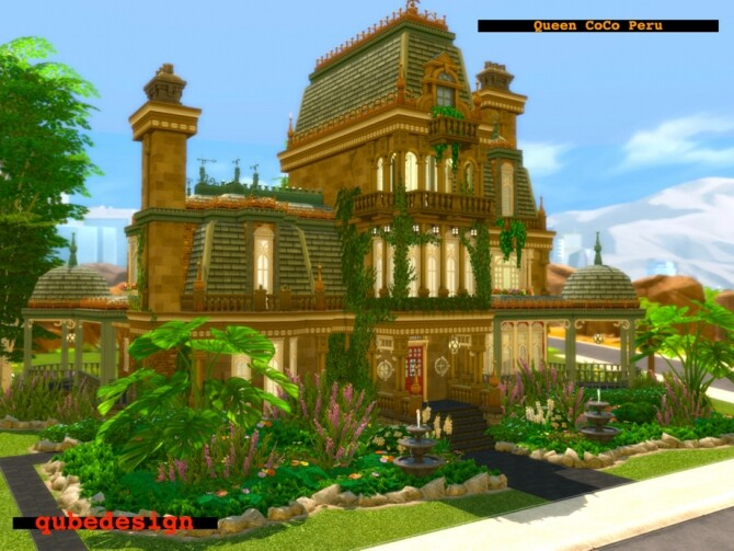 Sims 4 Queen CoCo Peru by QubeDesign at TSR