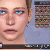 Damon Eyes CL by tatygagg